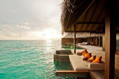 MALDIVES. Ayada Maldives Resort is located on the southern rim of the Gaafu Dhaalu Atoll in the southern Maldives