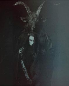 Creepy Beautiful Art Macabre 54 New Ideas Baphomet, Arte Horror, Horror Art, Vampires, Black Phillip, Satanic Art, Arte Obscura, Occult Art, Dark Photography