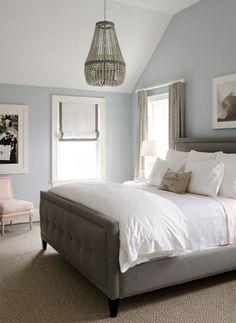 Master - Silver Mist Benjamin Moore Bedroom