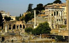 Rome Forum, Rome Italy