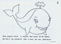 Iride, l'Arcobalena Pinocchio, Blog, Montessori, Pisces, Costumes, Whales, Spring, Lab, Classroom