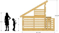 Free Pallet Playhouse Plan | DIY Project