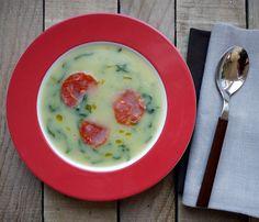 Someone likes it green… <br>Caldo verde (Portugal)  #CaldoVerde #Portugal #recipes #recepty #polievky #soups #Portugalsko