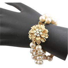 Super  Marvella Faux Pearl Bracelet