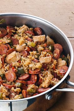 Mmmm… nothing says homemade like this easy Jambalaya recipe. This favorite New Orleans dish is cooked to perfection with the trinity, tomatoes, chicken and Andouille sausage. Add must-haves like Creole seasoning and cayenne pepper to round out this essential Mardi Gras meal.