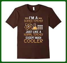 Mens I Am A Science Teacher Except Much Cooler T-Shirt Scientist Small Brown - Math science and geek shirts (*Amazon Partner-Link)