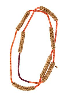 Lucy Folk presents DIP - NH: Spring/Summer 2014 / SH: Autumn/Winter 2014 - FABULOUS FRENCH FRIES NECKLACE