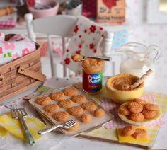 Miniature Baking Peanut Butter Cookies by CuteinMiniature on Etsy