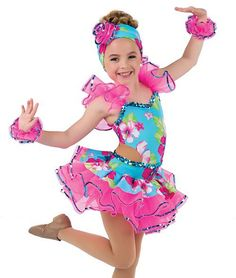 Hawaiian dance costume, girls size 12-14