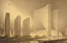 The Huge City by Hugh Ferris.