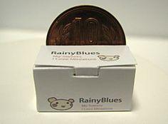 (Caja de pastel rectangular de apertura lateral para el pastel de papel) Blues ~ ~ Rainy bienes en miniatura