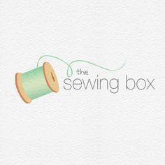Sewing Thread Logo : Envye, A Design Shop by Wonder Forest