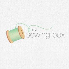 Sewing Thread Logo : Envye, A Design Shop by Wonder Forest