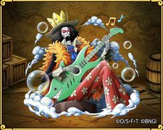 "Brook Straw Hat Pirates: Reunited Straw Hat Pirates musician. Two years after Luffy's ""16 Rings..."