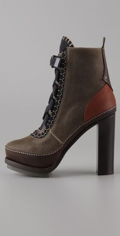 Winter booties that give height and look comfortable.  Gimmie gimmie rag & bone!!