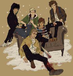 One Direction Walking Dead AU