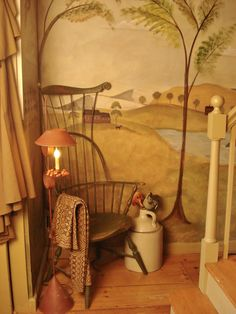Nealon/Cardillo Home by Muralist Susan Dwyer