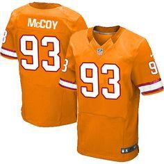 18e9e576a Nike Elite Gerald McCoy Orange Men s Jersey - Tampa Bay Buccaneers  93 NFL  Alternate