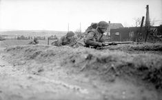 FEB 8 1945 Operation Veritable – British and Canadians attack - See more at: http://ww2today.com Infantry and armour in action at the start of Operation 'Veritable', 8 February 1945.
