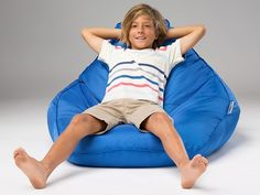 Our most popular bean bag for kids is now available with an inner liner, making it easy to clean. Perfect for schools or commercial environments where heavy soiling may occur. Kids Bean Bags, Kids Bags, Cousins, Backyard Ideas, Schools, Bean Bag Chair, Beans, Commercial, Popular