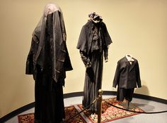 19th Century Mourning Clothing