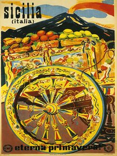 SICILY Sicilia Italy Italia Spring Travel Tourism