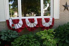 Happy Canada Day! DIY Window Bunting- @ So Very, Very {P}interesting!