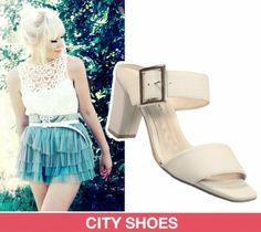 Os calçados brancos tornaram-se objeto de desejo das fashionistas e celebridades, além de ser uma ótima opção para o verão!
