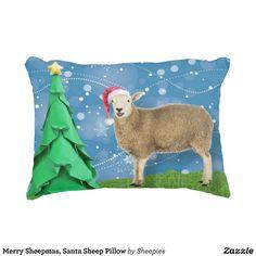 Merry Sheepmas, Santa Sheep Pillow
