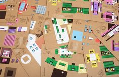 Paper Town: Cardboard Toys Modeled After Polish Suburbia | Jeannie Huang