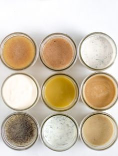 How to Make Homemade Salad Dressing: 9 Easy Recipes 9 Homemade Salad Dressing Recipes that you'll make over and over again. Recipes include ranch, creamy Italian, honey poppy seed dressing and more! Honey Mustard Salad Dressing, Vinaigrette Salad Dressing, Salad Dressing Recipes, Salad Recipes, Avocado Recipes, Noodle Recipes, Ranch Dressing, Gourmet Recipes, Cooking Recipes