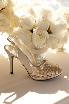 Perfect your wedding look with finishing touches from Lauren Ralph Lauren: Gold accessories lend your wedding day an antique charm Prom Shoes, Wedding Shoes, Wedding Accessories, Women Accessories, Heeled Boots, Shoe Boots, Beautiful Shoes, Shoe Game, Me Too Shoes