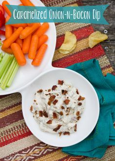 Caramelized Onion Dip | A Spicy Perspective