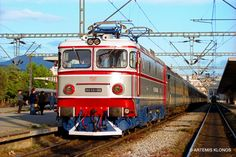The train was the very first electric train in Greece Electric Train, Electric Locomotive, Thessaloniki, Romania, Greece, Engineering, Journey, Europe, Vehicles