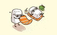 sushi drawing - Pesquisa Google   estampas   Pinterest   Sushi ...