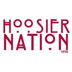 Hoosier Nation! #IU #Hoosier