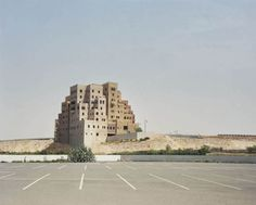 """Photographer Bas Princen.  """"My main objective with this project was to create a series of photographs in which Amman, Beirut, Cairo, Dubai and Istanbul disappear as individual cities and as specific places, dissolving instead into a new kind of city, an imaginary urban entity in formation. This premise directed me to specific places in the periphery where pieces of the city are forming, almost like islands, and this accounts for my interest in the refugee camps and gated communities."""""""