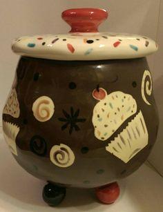 CUPCAKES on a COOKIE Jar