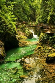 Mountain Gorge, Triglav, Slovenia Why book a hotel when you can get more value from vacation rentals? Visit http:www://goldsuites.com #travel #topdestinations #vacationrentals