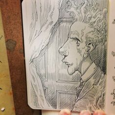 Small sketchbook.
