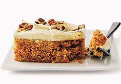przepisy: Ciasto marchewkowe z polewą z serka topionego