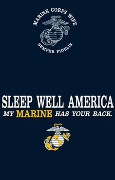 Many Marine Mothers and Wives out there deserve your thanks and prayers this New Year!  God Bless and Preserve the US Marines!