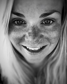 "124 Likes, 5 Comments - Tiina (@somebodyleftthegateopen) on Instagram: ""#sun paints the smile on my face ☀️😊 #happyface #freckles #smile"""