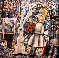 Blue Alice,1956-1957, Charles Blackman. Australian, born in 1928.