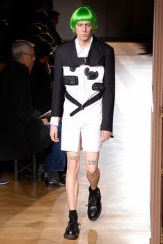Comme des Garçons Homme Plus Autumn/Winter 2017 Menswear Collection | British Vogue