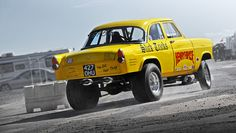 old ford gassers | Henry HiRise - Ford Consul Gasser - 2010 NSRA Hot Rod Drags | Flickr ...