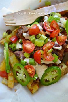 Vegan Chili Fries- They Look Delish!!!