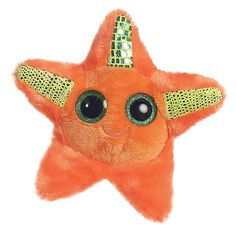 Explore the magical world of YooHoo and Friends with Staree the Stuffed Starfish by Aurora! Measuring about five inches tall, this small plush starfish Ty Animals, Ty Stuffed Animals, Plush Animals, Ty Beanie Boos, Beanie Babies, Halloween Costume Shop, Halloween Costumes For Kids, Ty Peluche, Ty Toys