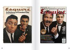 Muhammad Ali - Esquire - Then & Now