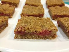 Raspberry Breakfast Bars Recipe on Yummly